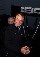Aug 17, 2014; Brainerd, MN, USA; NHRA sponsor Forrest Lucas during the Lucas Oil Nationals at Brainerd International Raceway. Mandatory Credit: Mark J. Rebilas-