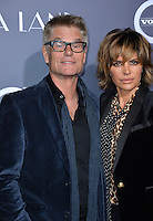 Actor Harry Hamlin &amp; wife actress Lisa Rinna at the Los Angeles premiere for &quot;La La Land&quot; at the regency Village Theatre, Westwood. <br /> December 6, 2016<br /> Picture: Paul Smith/Featureflash/SilverHub 0208 004 5359/ 07711 972644 Editors@silverhubmedia.com