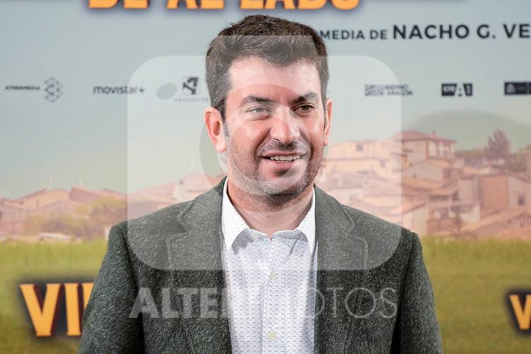 """Arturo Valls attends to the presentation of the spanish film """" Villaviciosa de al lado"""" in Madrid, Spain. November 29, 2016. (ALTERPHOTOS/BorjaB.Hojas)"""