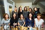 Friends enjoying a night out at Bella Bia's on Saturday front l-r Aisling Foley, Karen Hayles, Caitriona  Dowling, Ciara Hickey, Ann O'Sullivan Back l-r Sinead Coffey, Caroline Ring, Grainne Kelly, Mary McQuinn, Aoife Costello