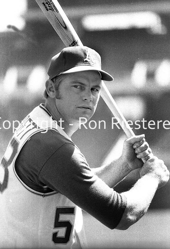 "A's Adrian ""Smokey"" Garrett  <br /> 1970 photo/Ron Riesterer"