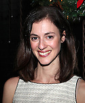 Katharine Powell attending the Opening Night After Party for the Playwrights Horizons World Premiere Production of 'The Great God Pan' at Heartland Brewery in New York City on December 18, 2012