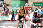Robert Gesink (NED) Team Jumbo-Visma finishes in 4th place at the end of Stage 6 of La Vuelta 2019 running 198.9km from Mora de Rubielos to Ares del Maestrat, Spain. 29th August 2019.<br /> Picture: Colin Flockton | Cyclefile<br /> <br /> All photos usage must carry mandatory copyright credit (© Cyclefile | Colin Flockton)