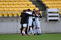 A League - Wellington Phoenix v Perth Glory at Westpac Stadium, Wellington, New Zealand on Sunday 27 October 2019. <br /> Photo by Masanori Udagawa. <br /> www.photowellington.photoshelter.com
