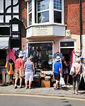 Lily Likes vintage shop at Sheringham, Norfolk, England, UK