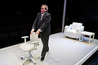 """""""Infected"""" presented by Upstream Theater at Kranzberg Arts Center in St. Louis, Missouri on Feb 8, 2018."""