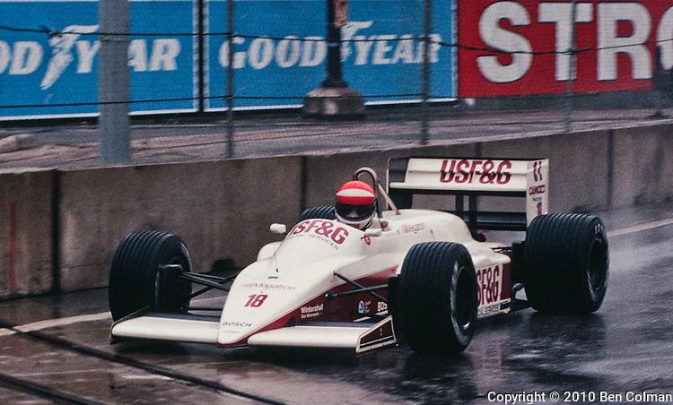 Eddie Cheever, Arrows A10, Detroit 1987