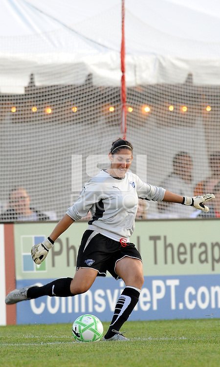 Alli Lipsher...Saint Louis Athletica defeated Boston Breakers 1-0, at Anheuser Busch Soccer Park, Fenton, MO.