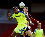 Tom Huddlestone of Derby County tussles with John Fleck of Sheffield Utd  during the Championship match at Bramall Lane, Sheffield. Picture date 26th August 2017. Picture credit should read: Simon Bellis/Sportimage