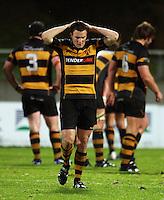 Taranaki fullback Jack Cameron. Air New Zealand Cup rugby match - Taranaki v Auckland at Yarrows Stadium, New Plymouth, New Zealand. Friday 9 October 2009. Photo: Dave Lintott / lintottphoto.co.nz