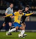 Nederland, Waalwijk, 10 november  2012.Eredivisie.Seizoen 2012-2013.RKC Waalwijk-FC Utrecht.Imad Najah van RKC Waalwijk in actie met de bal