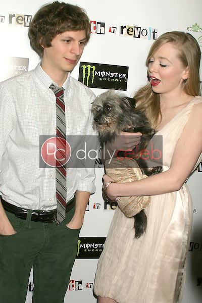 Michael Cera and Portia Doubleday<br /> at the &quot;Youth In Revolt&quot; Los Angeles Premiere , Mann Chinese 6, Hollywood, CA. 01-06-10<br /> David Edwards/DailyCeleb.Com 818-249-4998