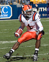 03 November 2007: Syracuse wide receiver Mike Williams..The Pitt Panthers defeated the Syracuse Orange  20-17 on November 03, 2007 at Heinz Field, Pittsburgh, Pennsylvania.