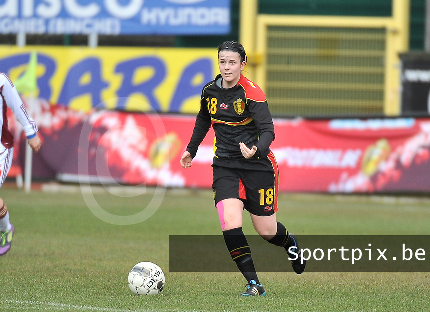 Russia U19 - Belgium U19 : Maria Laura Aga Martinez.foto DAVID CATRY / Nikonpro.be