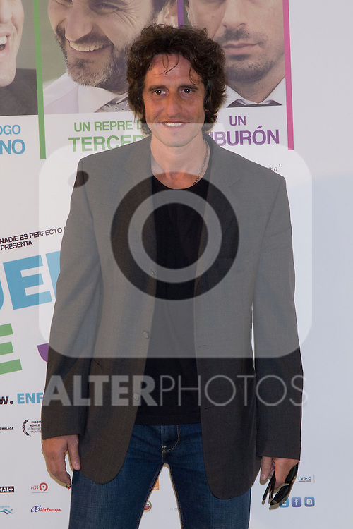 "28.05.2012. Presentation at the ""Telefonica Flagship Store"" in Madrid in the movie ""In Out of the Game"" with the presence of the director David Marques and actors Fernando Tejero, Diego Peretti, Patricia Montero and Carmen Ruiz. In the image Diego Peretti (Alterphotos/Marta Gonzalez)"