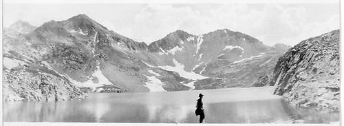 Wide-angle view of Hope Lake.<br /> Hope Lake, CO