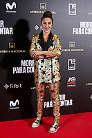 Gala Evora attends to 'Morir para contar' film premiere during the Madrid Premiere Week at Callao City Lights cinema in Madrid, Spain. November 13, 2018. (ALTERPHOTOS/A. Perez Meca) /NortePhoto.com