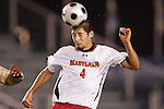 14 November 2008: Maryland's Omar Gonzalez. The University of Maryland defeated Boston College 1-0 at WakeMed Stadium at WakeMed Soccer Park in Cary, NC in a men's ACC tournament semifinal game.