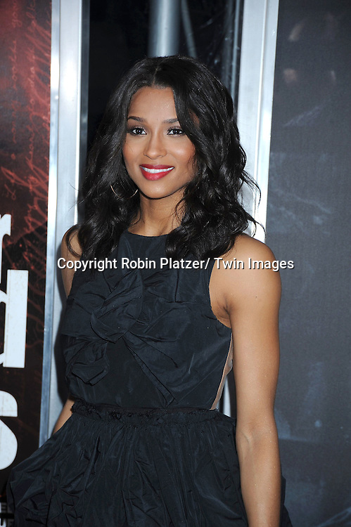 "Ciara attending The New York Special Screening.of ""For Colored Girls"" at The Ziegfeld Theatre on October 25, 2010 in New York City"