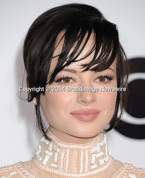Pictured: Ashley Rickards<br /> Mandatory Credit &copy; Gilbert Flores /Broadimage<br /> 2014 People's Choice Awards <br /> <br /> 1/8/14, Los Angeles, California, United States of America<br /> Reference: 010814_GFLA_BDG_278<br /> <br /> Broadimage Newswire<br /> Los Angeles 1+  (310) 301-1027<br /> New York      1+  (646) 827-9134<br /> sales@broadimage.com<br /> http://www.broadimage.com