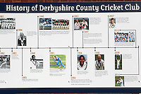 History of Derbyshire CCC display ahead of Derbyshire CCC vs Essex CCC, Specsavers County Championship Division 2 Cricket at the 3aaa County Cricket Ground on 15th August 2016
