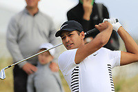 Julian Suri (USA) tees off the 16th tee during Friday's Round 2 of the 2018 Dubai Duty Free Irish Open, held at Ballyliffin Golf Club, Ireland. 6th July 2018.<br /> Picture: Eoin Clarke | Golffile<br /> <br /> <br /> All photos usage must carry mandatory copyright credit (&copy; Golffile | Eoin Clarke)