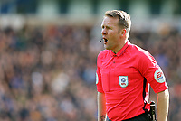 Referee Oliver Langford<br /> <br /> Photographer Rich Linley/CameraSport<br /> <br /> The EFL Sky Bet Championship - Blackburn Rovers v Preston North End - Saturday 9th March 2019 - Ewood Park - Blackburn<br /> <br /> World Copyright © 2019 CameraSport. All rights reserved. 43 Linden Ave. Countesthorpe. Leicester. England. LE8 5PG - Tel: +44 (0) 116 277 4147 - admin@camerasport.com - www.camerasport.com