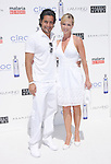 Julie Benz & Rich Orosco at The White Party presented by P-Diddy ,Ashton Kutcher & Malaria No More held at  private Estate in Cold Water Canyon, California on July 04,2009                                                                   Copyright 2009 Debbie VanStory / RockinExposures