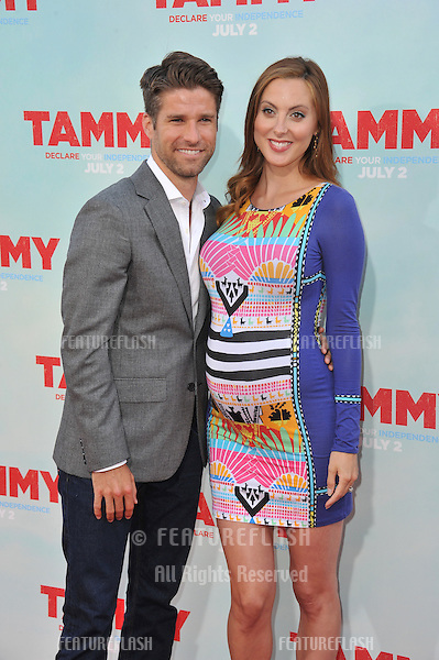 Eva Amurri Martino &amp; husband Kyle Martino at the premiere of &quot;Tammy&quot; at the TCL Chinese Theatre, Hollywood.<br /> June 30, 2014  Los Angeles, CA<br /> Picture: Paul Smith / Featureflash