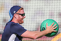 England's Jonny Bairstow<br /> <br /> Photographer Andrew Kearns/CameraSport<br /> <br /> Only IT20 - Vitality IT20 Series - England v Australia - Wednesday 27th June 2018 - Edgbaston - Birmingham<br /> <br /> World Copyright &copy; 2018 CameraSport. All rights reserved. 43 Linden Ave. Countesthorpe. Leicester. England. LE8 5PG - Tel: +44 (0) 116 277 4147 - admin@camerasport.com - www.camerasport.com