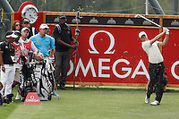 Alexander Noren (SWE) on the 13th on the 1st day of the Omega European Masters, Crans-Sur-Sierre, Crans Montana, Switzerland..Picture: Golffile/Fran Caffrey..