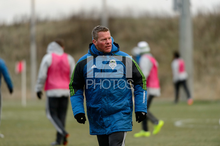 Toronto, ON, Canada - Thursday Dec. 08, 2016: David Tenney during training prior to MLS Cup at the Kia Training Grounds.
