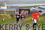 The first wave of competitors start the 2014 Portmagee Hell Mountain Challenge.
