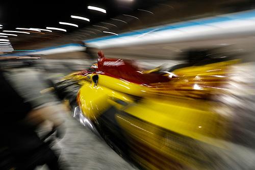 2017 IndyCar Media Day - Track Action<br /> Phoenix Raceway, Arizona, USA<br /> Saturday 11 February 2017<br /> Ryan Hunter-Reay<br /> World Copyright: Michael L. Levitt/LAT Images<br /> ref: Digital Image _AT_3984