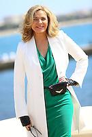 "Kim Catrall at "" Sensitive Skin "" photocall at Mipcom 2014 - Cannes"