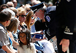 Members of the Nevada Legislative Police present American flags to the Eng and Fleetwood families during the 22nd annual Nevada Law Enforcement Officers Memorial ceremony in Carson City, Nev., on Thursday, May 2, 2019. <br /> Photo by Cathleen Allison/Nevada Momentum