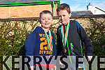 Brothers Kieran and Timothy O'Donoghue from Kilgarvan who have qualified for  the All Ireland Cross Country Running championships.