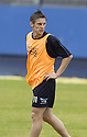 29/07/2005         Copyright Pic : James Stewart.File Name : jspa06 falkirk training.FALKIRK'S DARRYL DUFFY DURING THE FINAL TRAINING SESSION BEFORE HIS TEAM'S DEBUT IN THE SCOTTISH PREMIER LEAGUE.....Payments to :.James Stewart Photo Agency 19 Carronlea Drive, Falkirk. FK2 8DN      Vat Reg No. 607 6932 25.Office     : +44 (0)1324 570906     .Mobile   : +44 (0)7721 416997.Fax         : +44 (0)1324 570906.E-mail  :  jim@jspa.co.uk.If you require further information then contact Jim Stewart on any of the numbers above.........