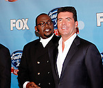 Randy Jackson and Simon Cowell at the American Idol - Idol Gives Back show at the Kodak Theatre, April 6th 2008..Photo by Chris Walter/Photofeatures