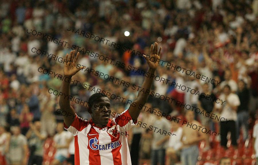 Fudbal, Jelen super liga, sezona 2011/12.Crvena Zvezda VS. Rad.Cristian Borja celebrates.Belgrade, 12.05.2012..foto: Srdjan Stevanovic/Starsportphoto ©