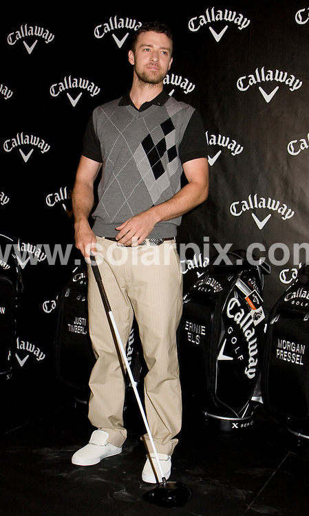 **ALL ROUND PICTURES FROM SOLARPIX.COM**.**SYNDICATION RIGHTS FOR UK, SPAIN, PORTUGAL, AUSTRALIA, S.AFRICA & DUBAI (U.A.E) ONLY**.Justin Timberlake at the launch of Callaway Golf's New FT-iQ Driver Launch Party. Held at the  Grand Central Terminal, New York City, NY, USA. 7th November 2008..This pic: Justin Timberlake..JOB REF: 7826 PHZ (Mayer)   DATE: 07_11_2008 .**MUST CREDIT SOLARPIX.COM OR DOUBLE FEE WILL BE CHARGED* *UNDER NO CIRCUMSTANCES IS THIS IMAGE TO BE REPRODUCED FOR ANY ONLINE EDITION WITHOUT PRIOR PERMISSION*