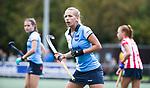 AMSTELVEEN -  Lisa Visser (Hurley)  .Hoofdklasse competitie dames, Hurley-HDM (2-0) . FOTO KOEN SUYK