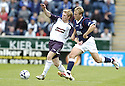 22/07/2007       Copyright Pic: James Stewart.File Name : sct_jspa17_falkirk_v_rangers.ALEX TOTTEN TESTIMONIAL.CHRIS BURKE TRIES TO GET AWAY FROM SCOTT ARFIELD....James Stewart Photo Agency 19 Carronlea Drive, Falkirk. FK2 8DN      Vat Reg No. 607 6932 25.Office     : +44 (0)1324 570906     .Mobile   : +44 (0)7721 416997.Fax         : +44 (0)1324 570906.E-mail  :  jim@jspa.co.uk.If you require further information then contact Jim Stewart on any of the numbers above.........