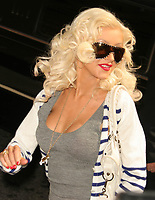 CHRISTINA AGUILERA 2006<br /> Photo to By John Barrett-PHOTOlink