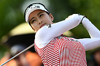 SINGAPORE - MARCH 02: Chella Choi of South Korea on the 1st tee during the third round of the HSBC Women's World Championship 2019 at Sentosa Golf Club - Tanjong Course, Singapore on March 02, 2019.<br /> .<br /> .<br /> .<br /> (Photo by: Naratip Golf Srisupab/SEALs Sports Images)<br /> .<br /> Any image use must include a mandatory credit line adjacent to the content which should read: Naratip Golf Srisupab/SEALs Sports Images