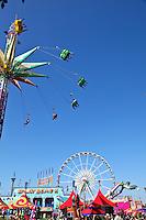 Rides At The Orange County Fair