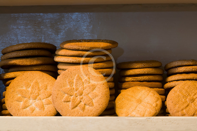 Belgium, Brussels, Specialty biscuits