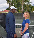 BOCA RATON, FL - NOVEMBER 22: Seal and Chris Evert pose for portrait during the 30TH ANNUAL Chris Evert Pro-Celebrity Tennis Classic presented by Chase Private Client at Boca Raton Resort & Club on November 22, 2019 in Boca Raton, Florida.   ( Photo by Johnny Louis / jlnphotography.com )