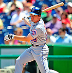 7 June 2009: New York Mets' first baseman Daniel Murphy in action during a game against the Washington Nationals at Nationals Park in Washington, DC. The Mets shut out the Nationals 7-0 to take the third game of the weekend series. Mandatory Credit: Ed Wolfstein Photo