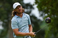 Tommy Fleetwood (ENG) watches his tee shot on 4 during Rd3 of the 2019 BMW Championship, Medinah Golf Club, Chicago, Illinois, USA. 8/17/2019.<br /> Picture Ken Murray / Golffile.ie<br /> <br /> All photo usage must carry mandatory copyright credit (© Golffile   Ken Murray)
